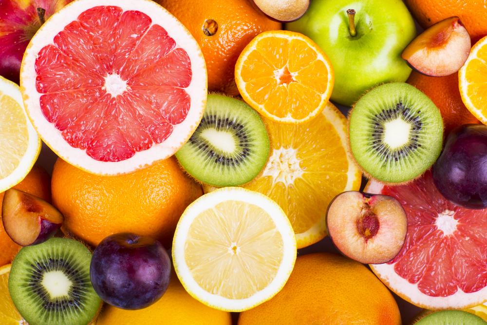 ビタミン豊富なフルーツ