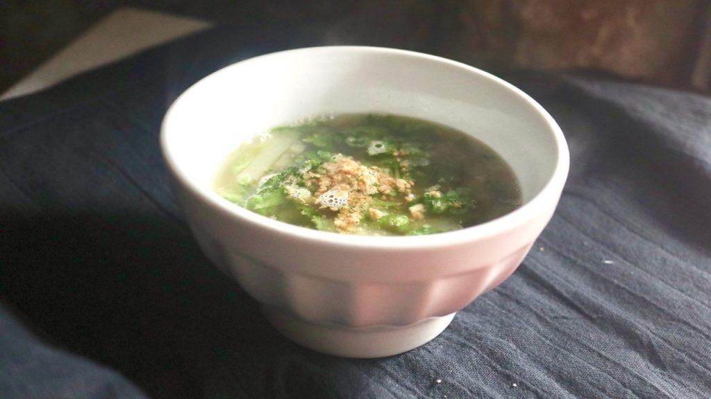 干しえび生姜スープ