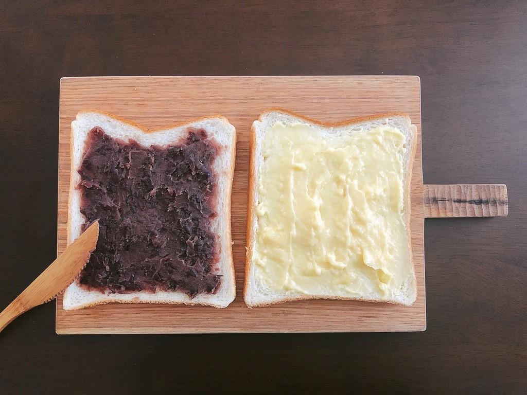 スイーツパン調理過程