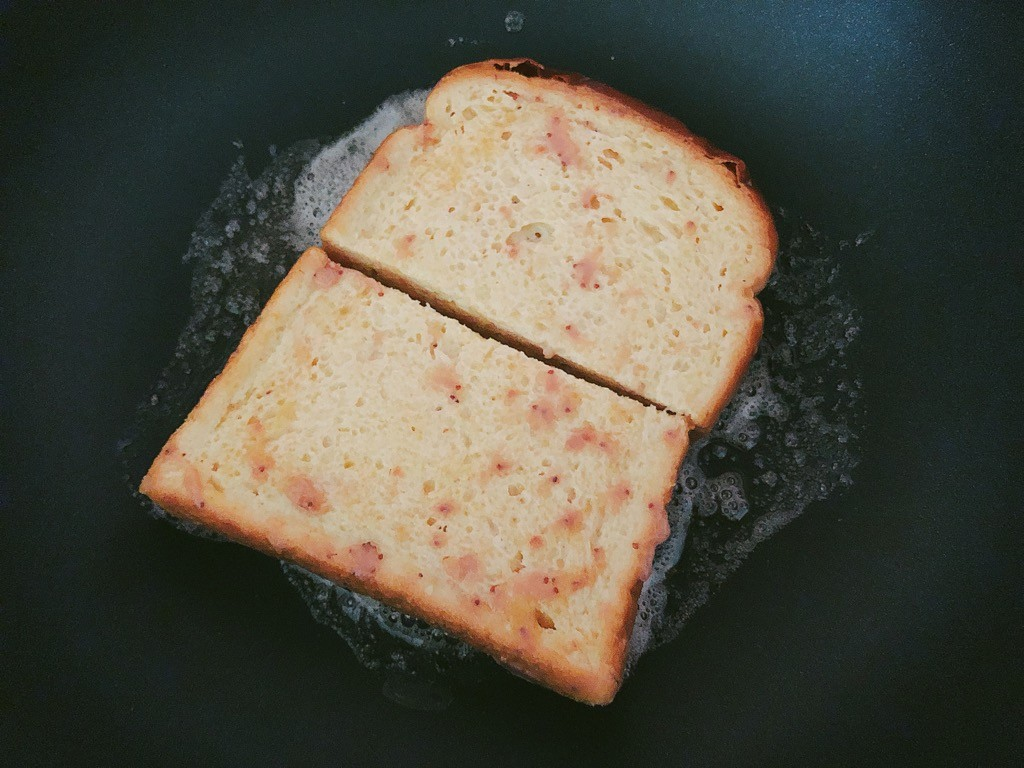 フライパンで焼く