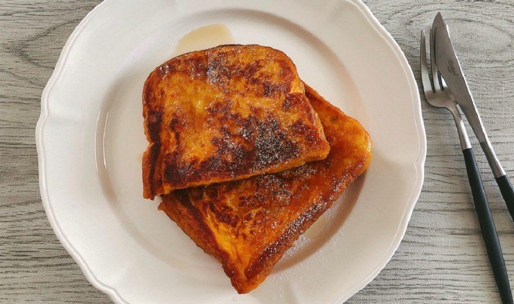 かぼちゃフレンチトースト
