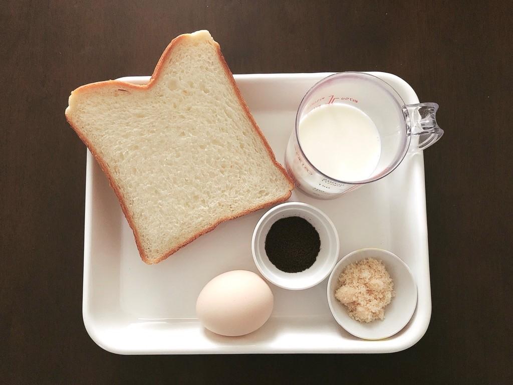 コーヒーフレンチトースト材料