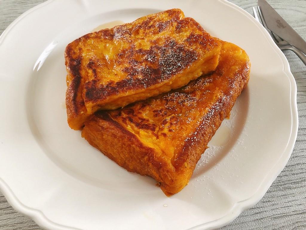 かぼちゃフレンチトースト完成