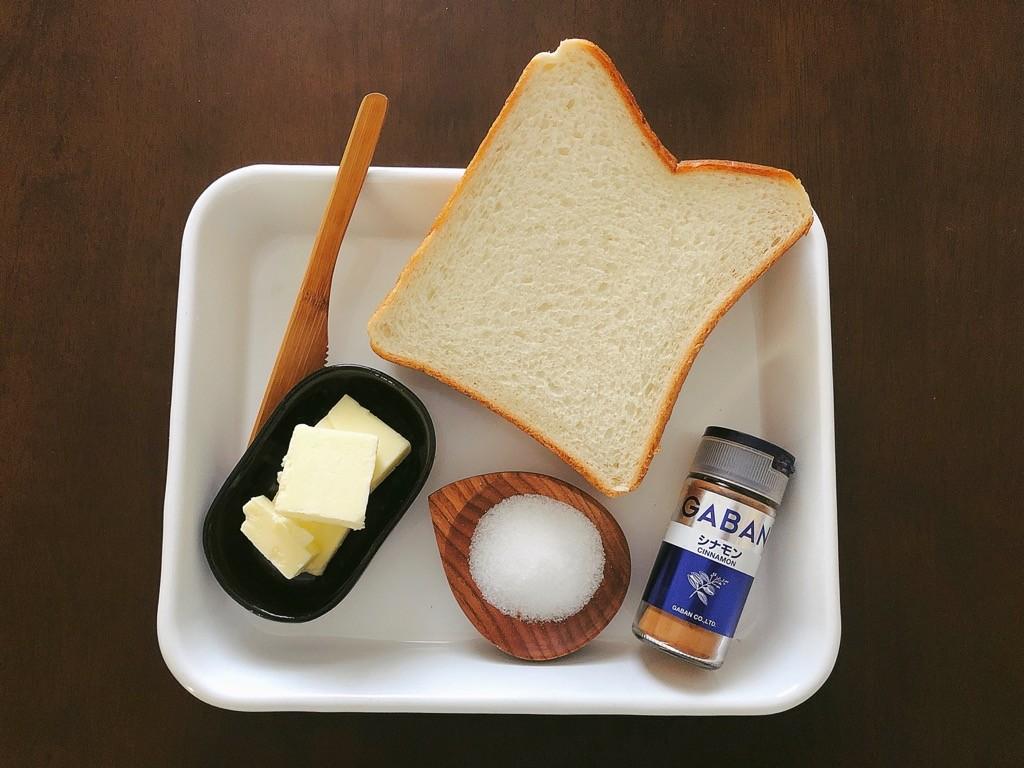 シュガートースト材料