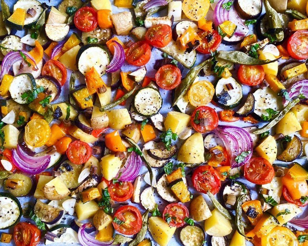 ロースト野菜集合