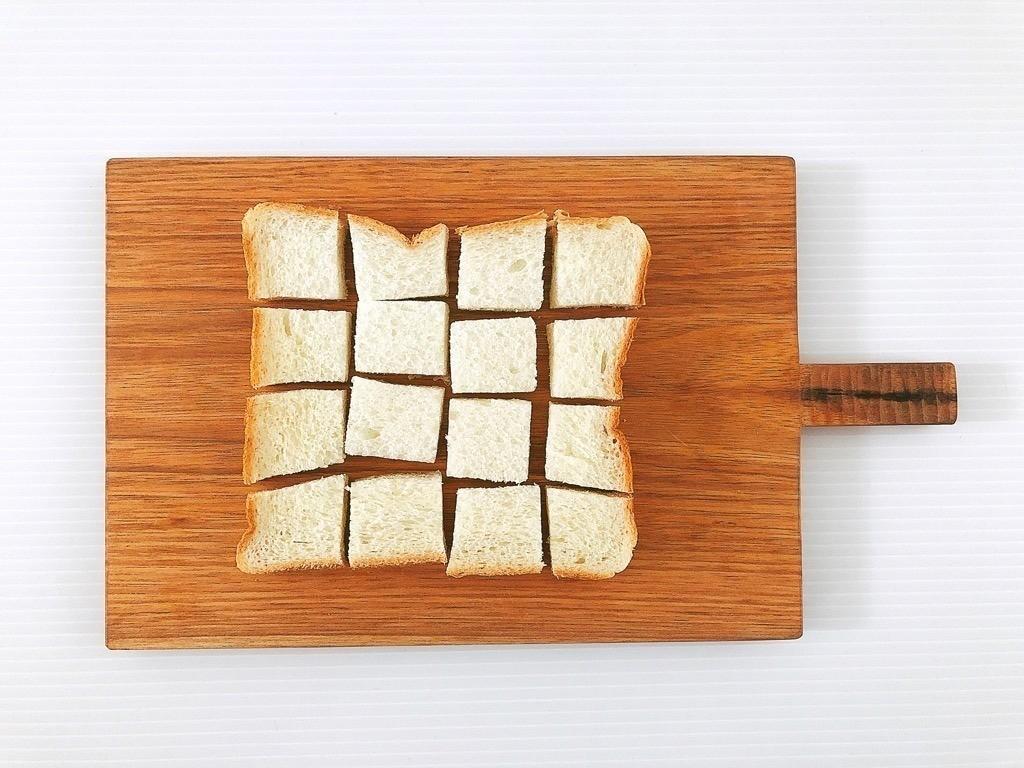食パンを16分割