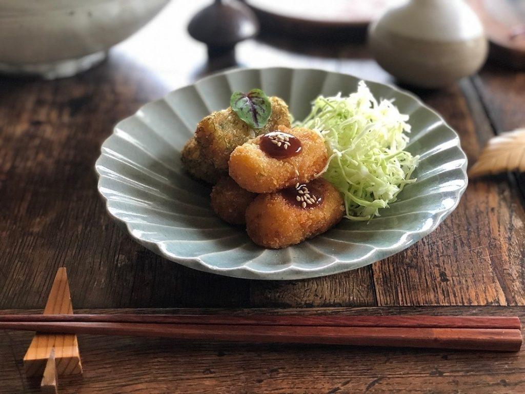 菊芋コロッケ完成