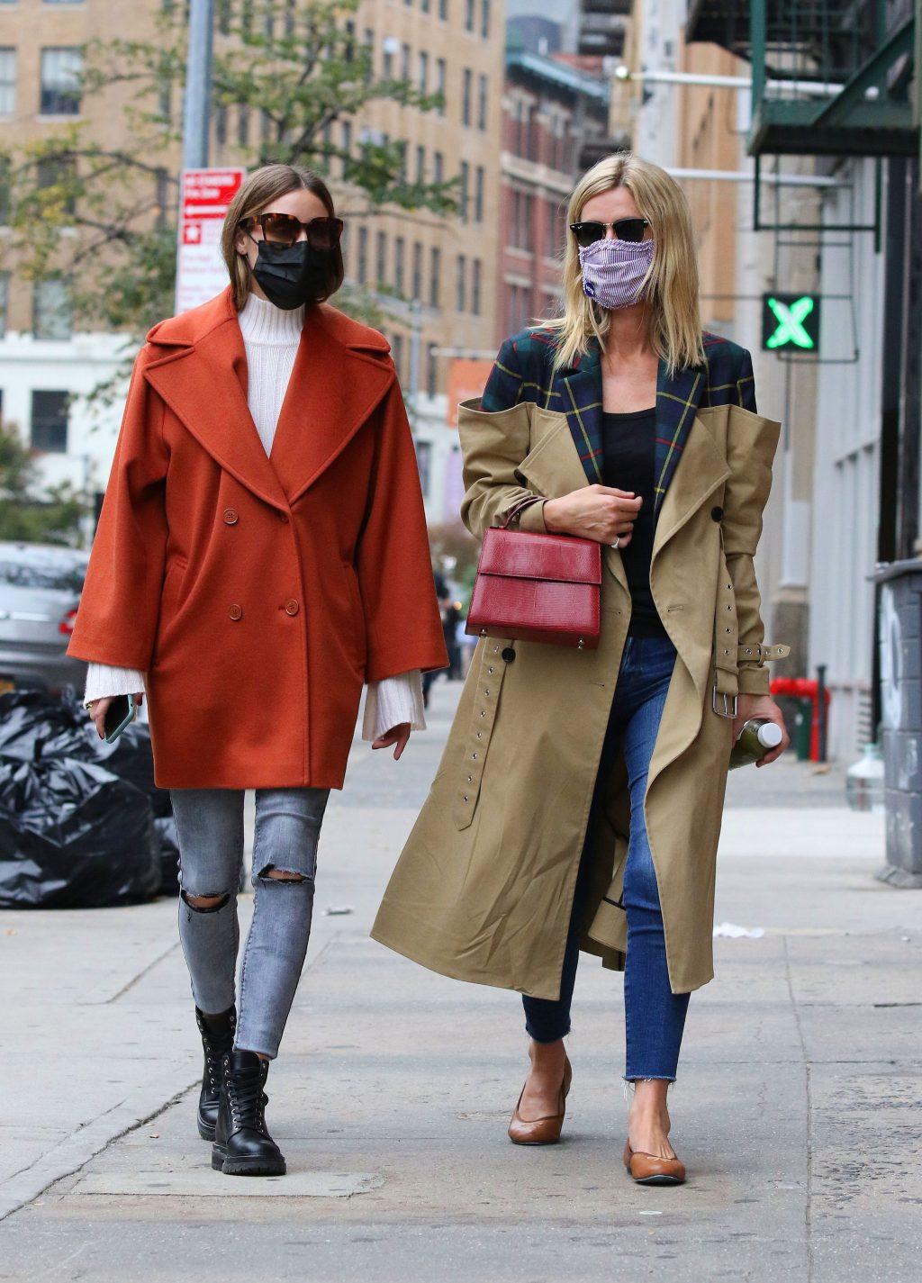 2020年10月-NY-オリビア・パレルモとニッキー・ヒルトン