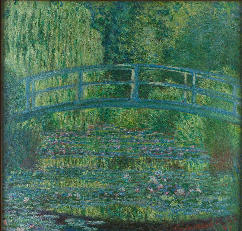 モネ《睡蓮の池、緑のハーモニー》