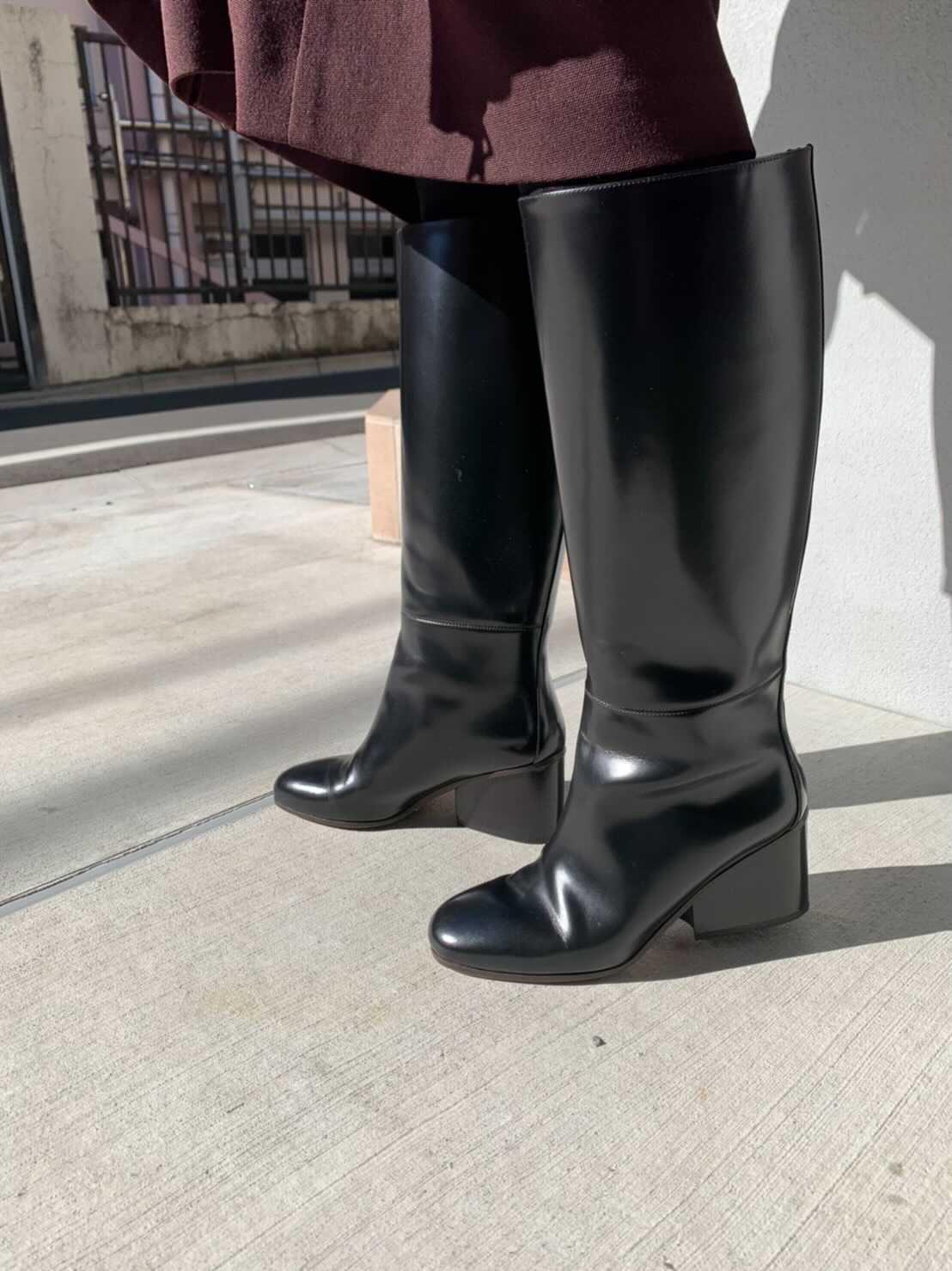 エルメスのブーツ