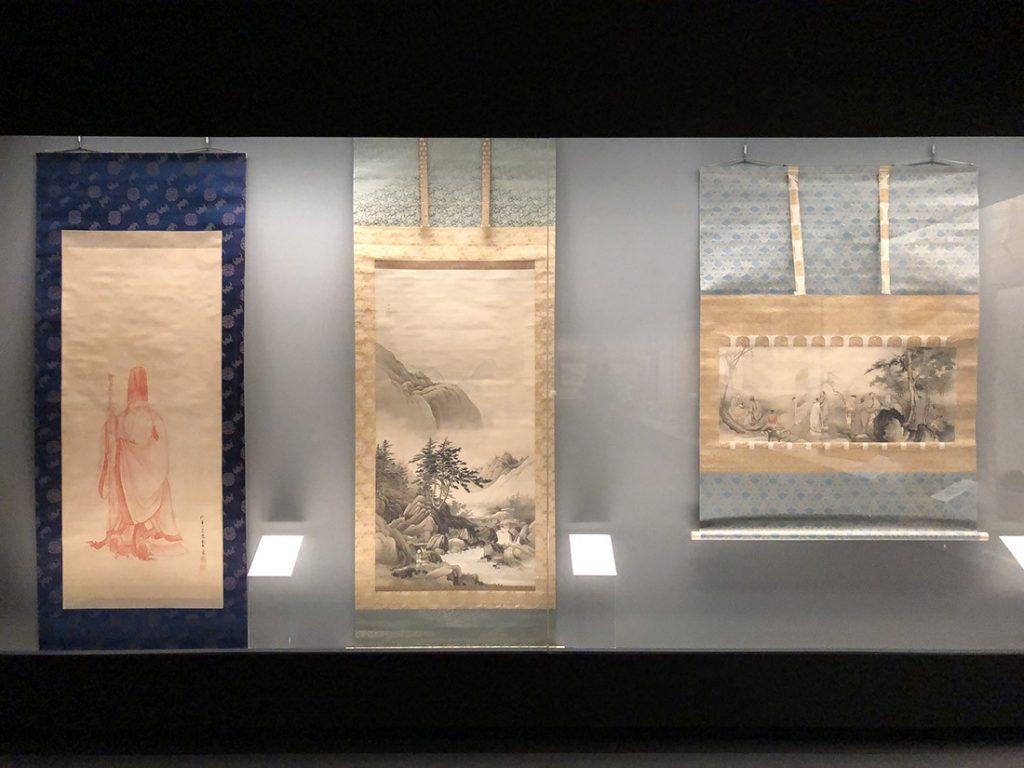 橋本雅邦の作品群