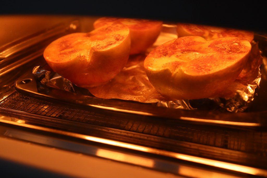 焼きリンゴのアイスのせ-手順2-2