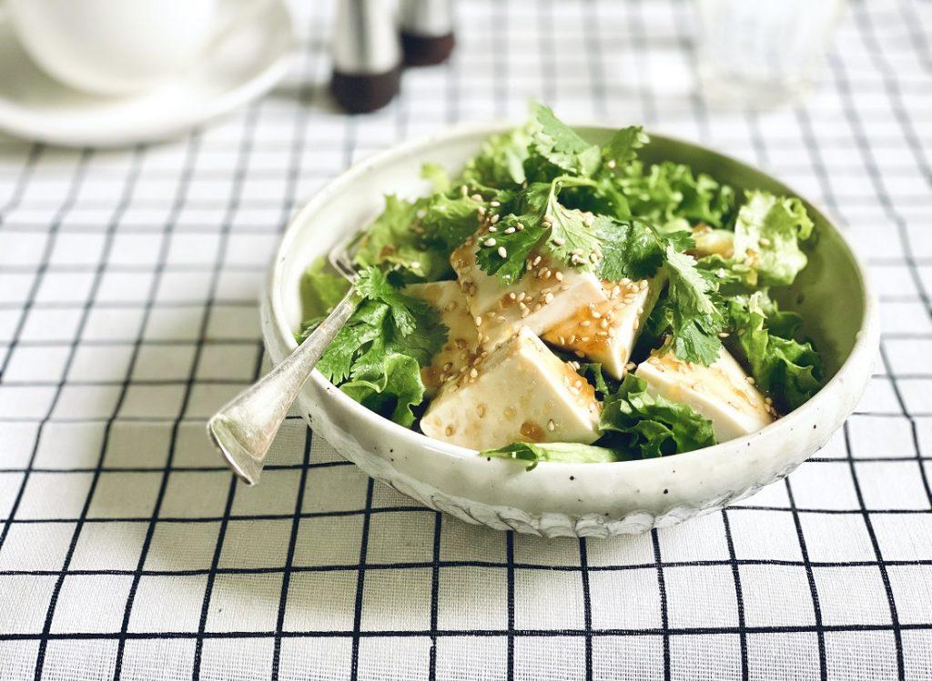 シンプル豆腐サラダ