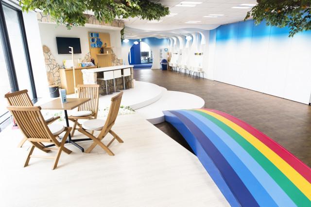 IT企業のオフィス