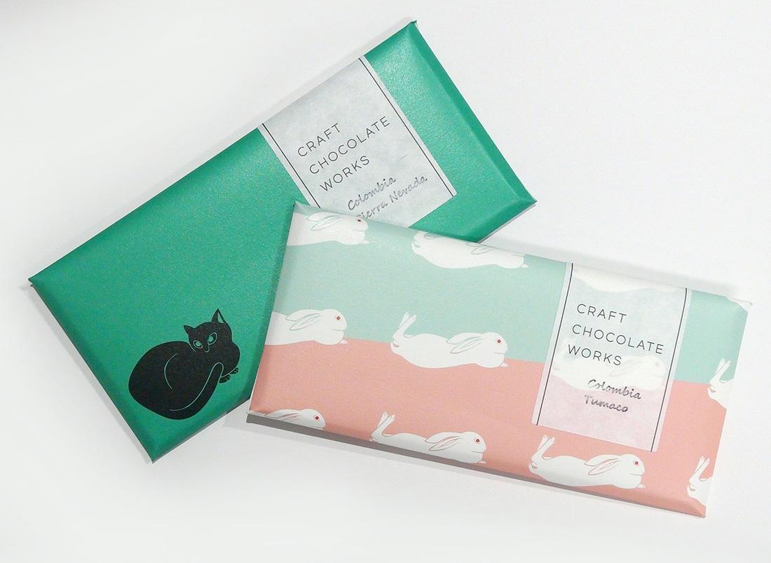 速水御舟《翠苔緑芝》チョコレート 兎、猫 05