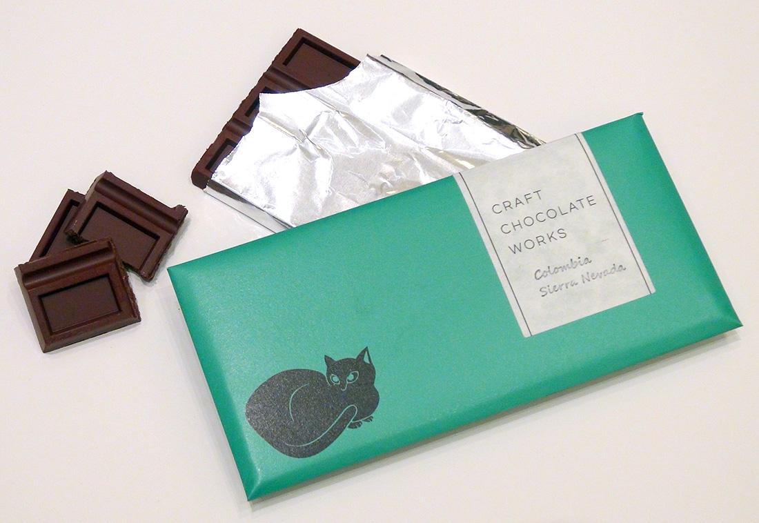 速水御舟《翠苔緑芝》チョコレート(猫)