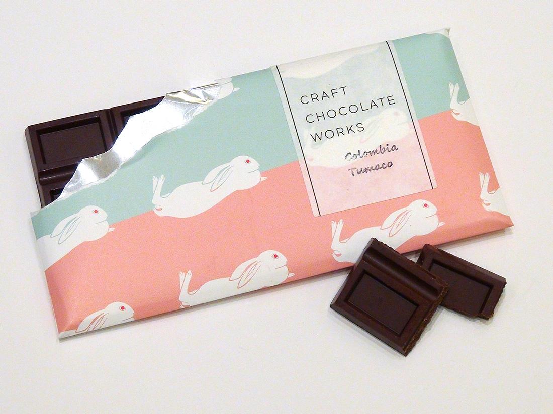 速水御舟《翠苔緑芝》チョコレート(兎)