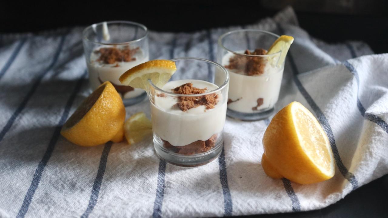 レモンチーズクリームパフェ