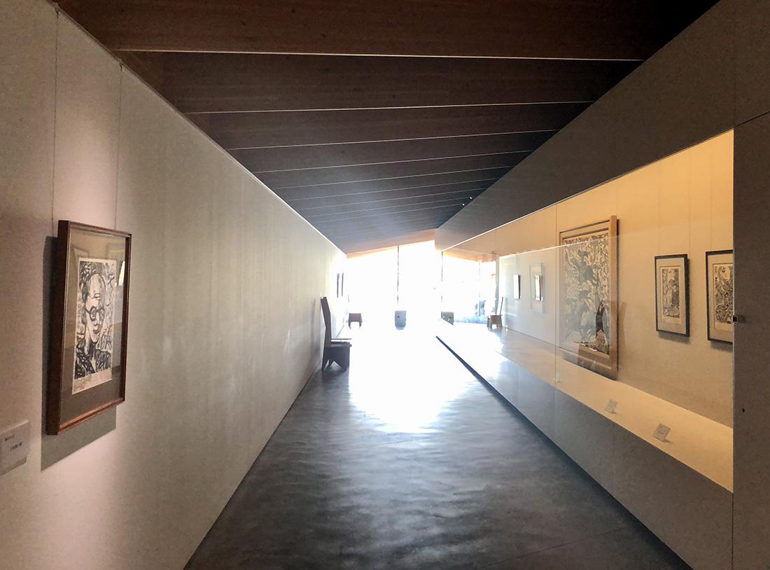 廣澤美術館内観