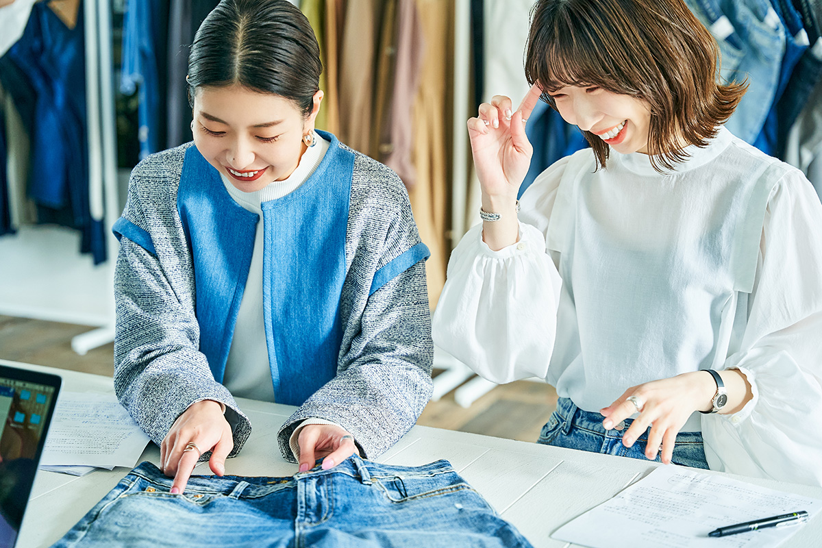 デンハムMD/企画近藤恵理香、GINZA SIX店松本瑛美