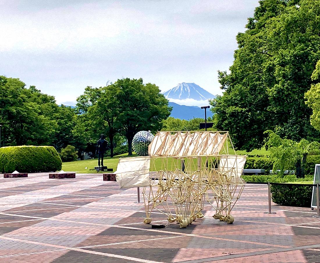 富士山とストランドビースト
