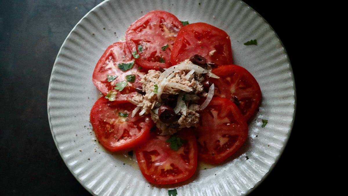 トマトのツナサラダ