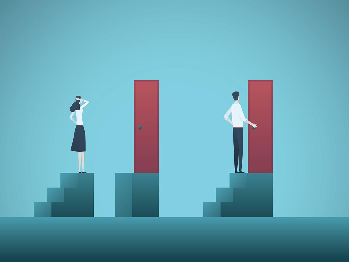 キャリアの男女不平等